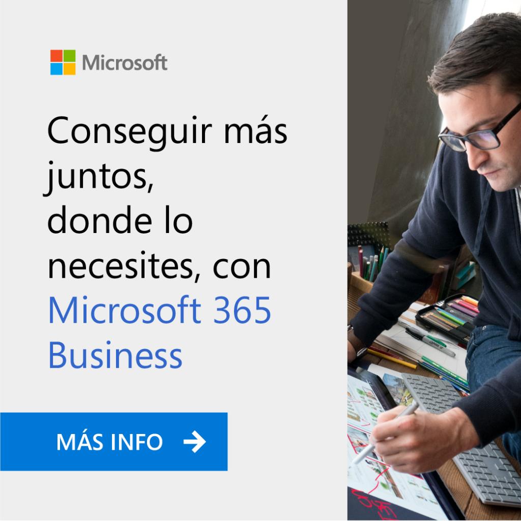 Conoce Microsoft 365 Business, el nuevo Office 365