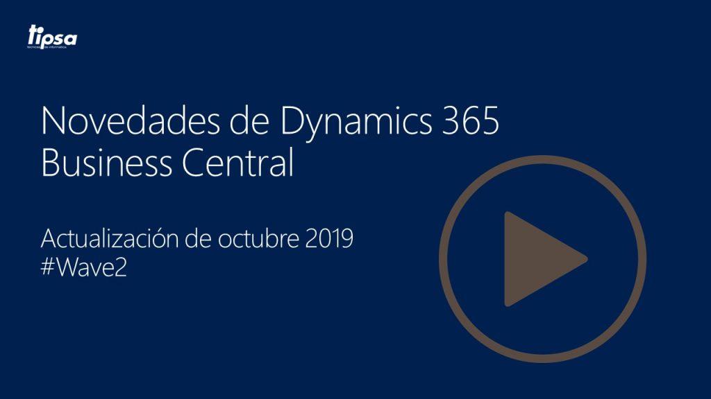 Webinar de novedades Business Central octubre 2019