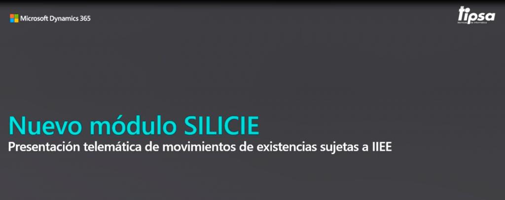 Gestión de SILICIE con Microsoft Dynamics NAV - Dynamics 365 Business Central
